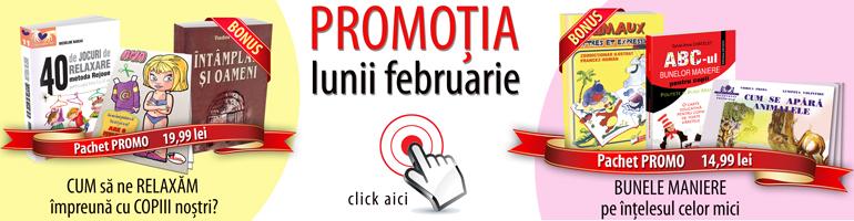 Promotia lunii februarie